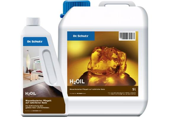 H2Oil, Pflegeöl auf wässriger Basis, natur 750 ml