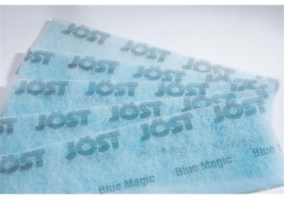 Staubbindetuch Blue Magic, 400 x 120 mm