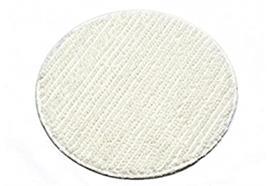 Textil-Pads weiss, ohne abrasive Streifen, 43 cm