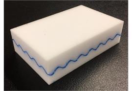 Blue Wave Hand Pad