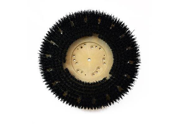 Brosse circulaire noir 410 mm, pour Numatic/Cleanfix