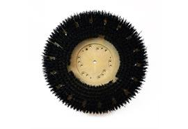 Brosse circulaire noir 410 mm, pour Wirbel/Wolff