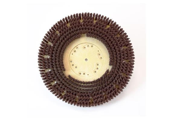 Brosse circulaire rouge 410 mm, pour Numatic/Cleanfix