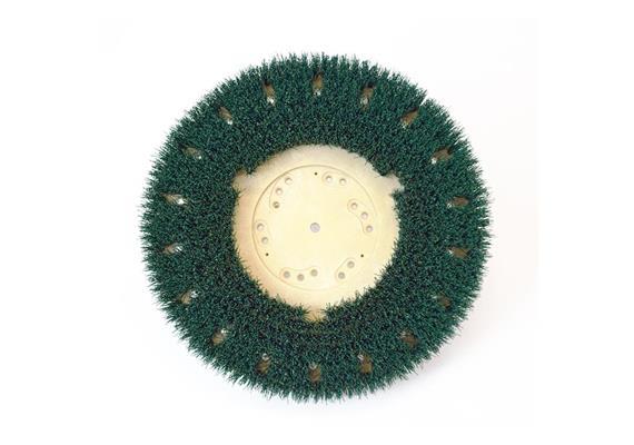 Brosse circulaire vert 410 mm, pour Wirbel/Wolff