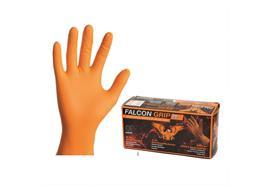 Falcon Grip HI-Vis, gants nitrile extra forts /L
