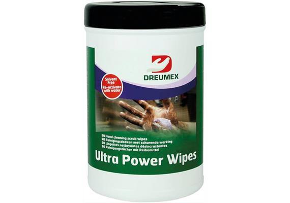 Lingettes de nettoyage Ultra Power Wipes 100pcs/boîte