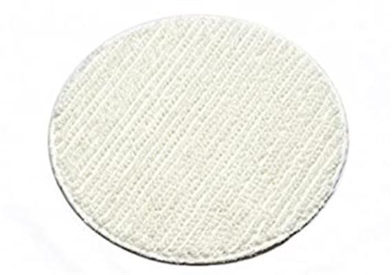 pad textile sans des bandes abrasive (blanc-bleu) 43 cm