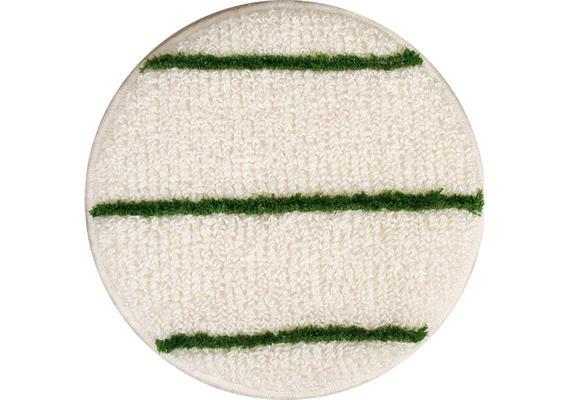 Scala pad textile blanc-vert Ø15cm