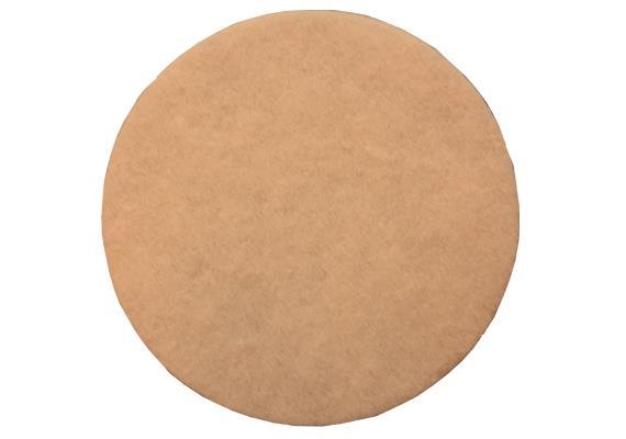 Super-Pad beige pour nettoyer à sec et pour huiler Ø 305 mm