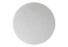 Super-Pad blanc pour polir et pour l'huilage Ø 305 mm