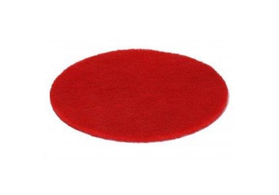 Super-Pad rouge pour décaper du parquet Ø 305 mm