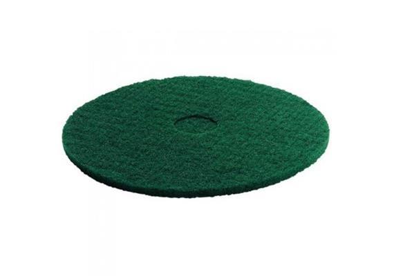 Super-Pad vert pour décaper des sols de lino, PVC etc. Ø 305 mm