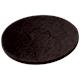Superpad noir Ø 165 mm